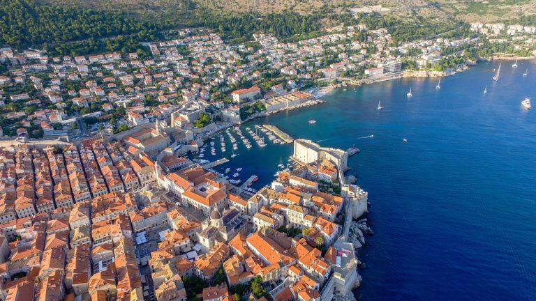Dubrovnik, vue panoramique