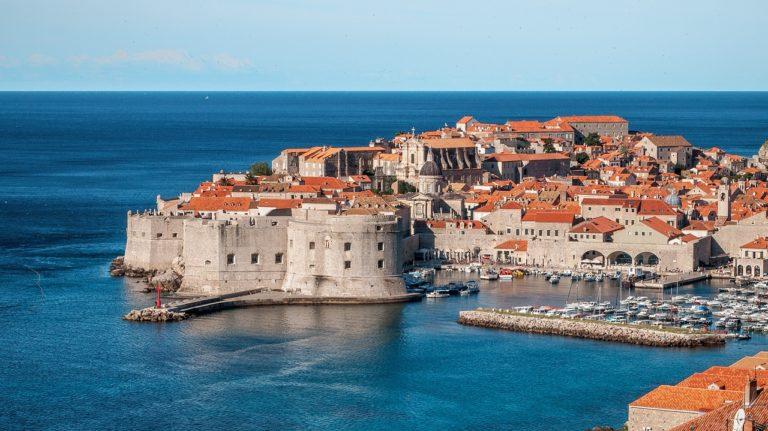 Dubrovnik vue sur les remparts