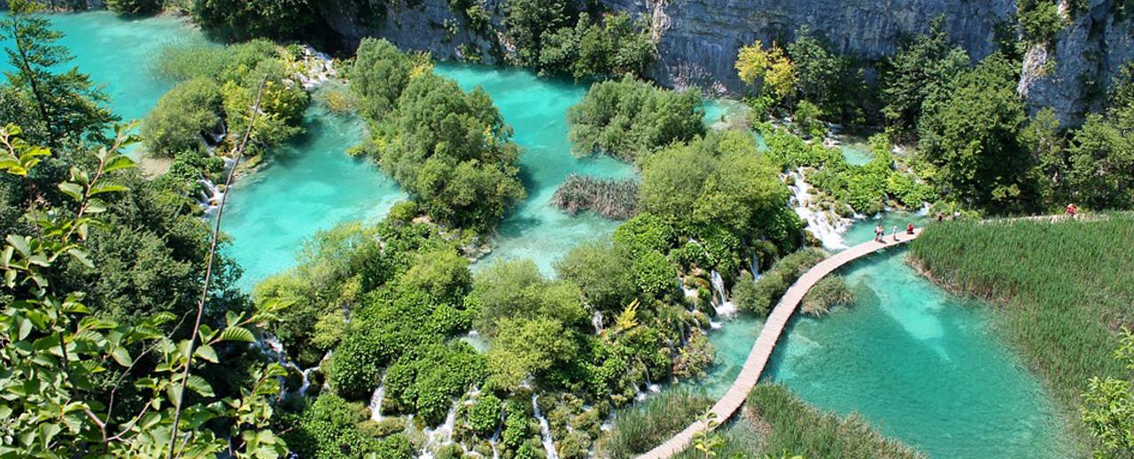 les parcs naturels de Croatie