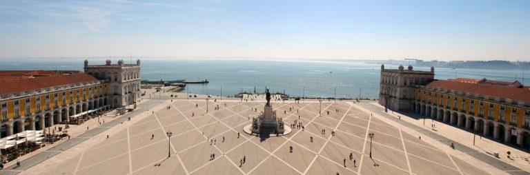 Lisbonne, Place du Commerce