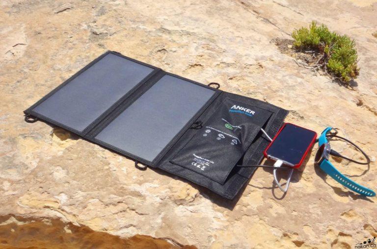 Chargeur solaire pour roadtrip