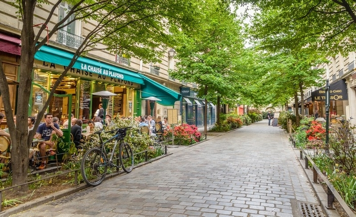Quartier Le Marais - Paris