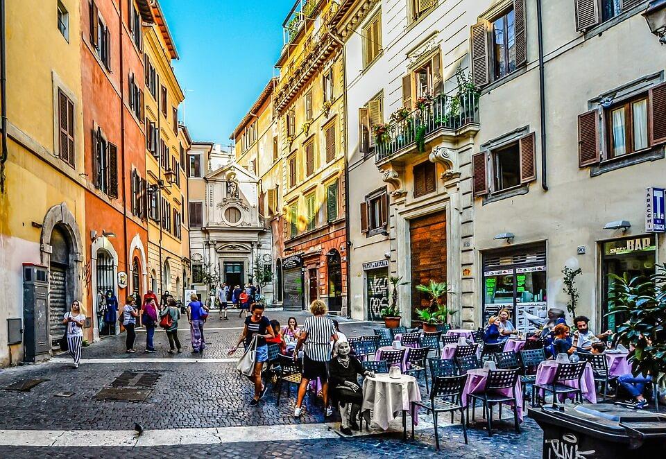 Cafés incontournables Rome Booktrip.fr