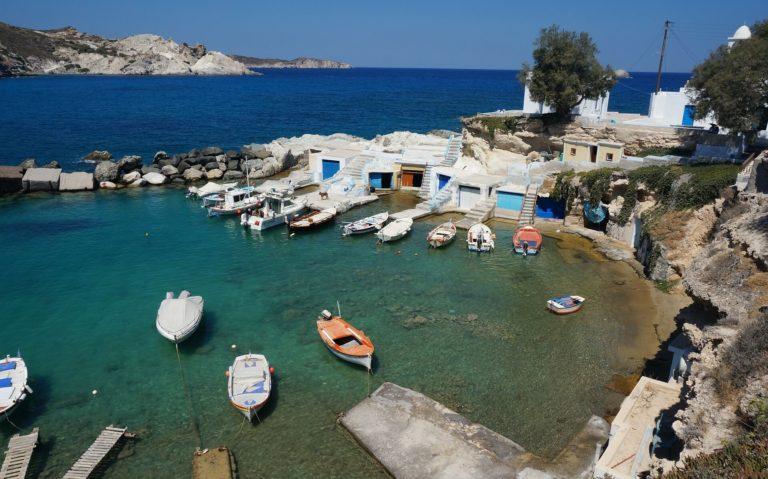Milos voyage booktrip