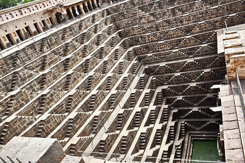 Chand Baori Puits Voyage Inde Booktrip
