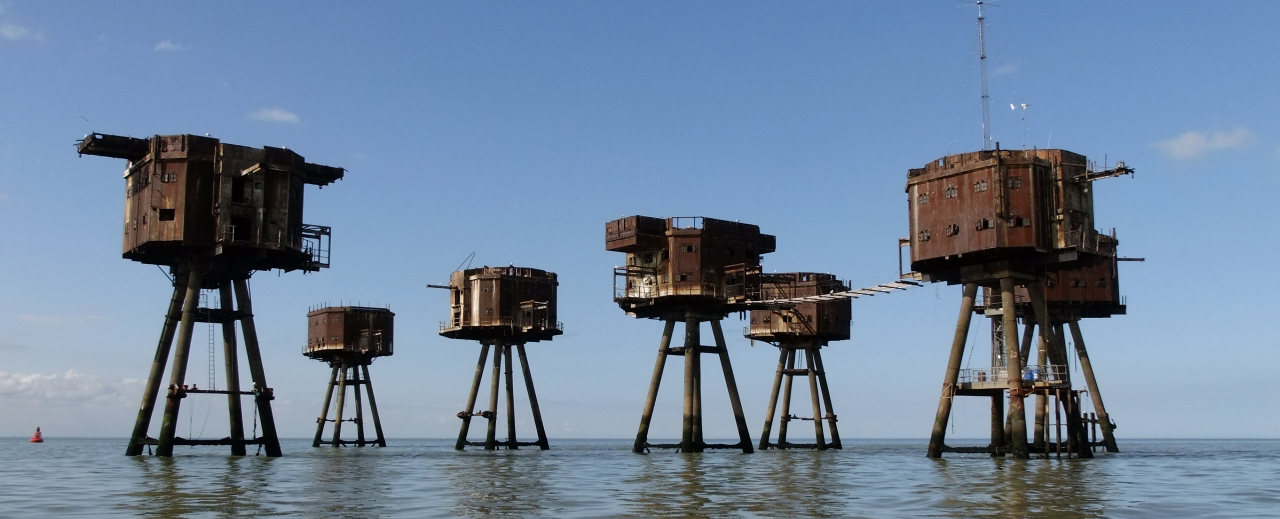 Forts Maunsell Voyage Visite Angleterre Booktrip