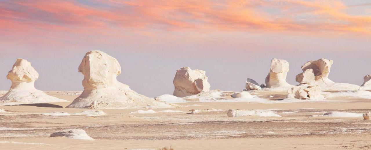 Voyage Egypte Desert Blanc Booktrip