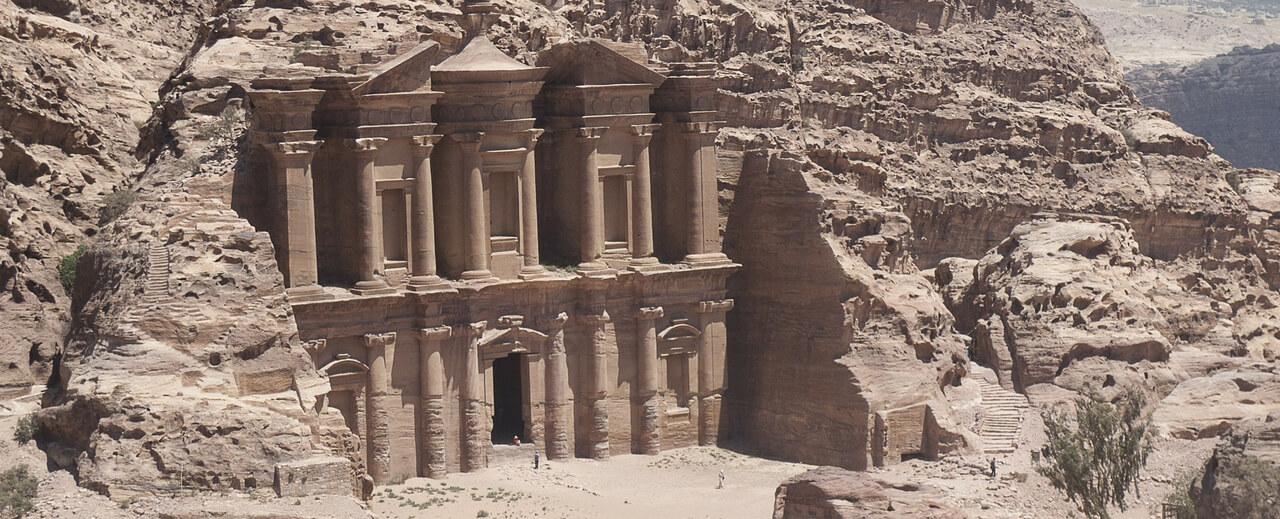 Cité Antique Petra Voyage Jordanie Booktrip