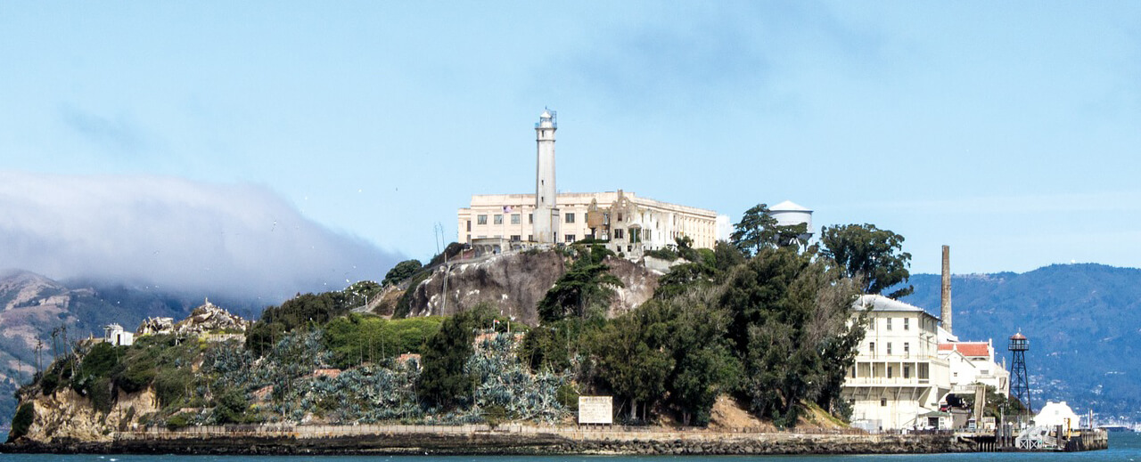 Voyage San Francisco visite prion alcatraz booktrip
